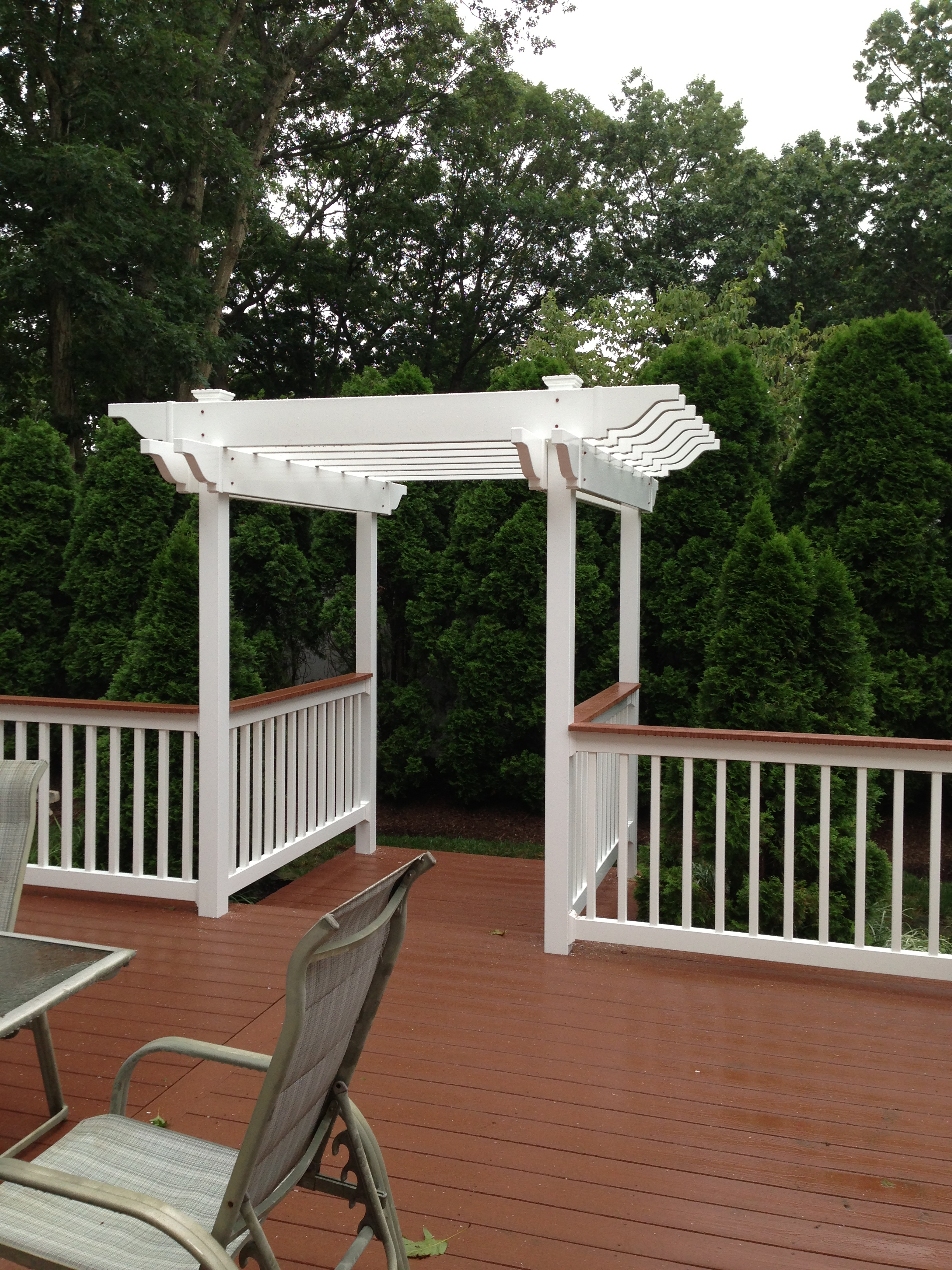 Backyard Deck and Arbor 1